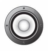 Audio Speaker Vector Illustration