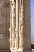 Acropolis Of Athens. Erechtheion Columns. Greece