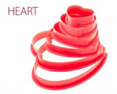 Red Heart Stack