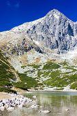 Lomnicky Peak and Skalnate Tarn, Vysoke Tatry (High Tatras), Slovakia