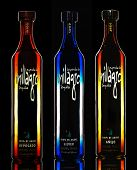 Three bottles of Tequila Leyenda del Milagro