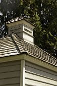 stock photo of cupola  - A cupola on arood lookinng like it may be a bird house too - JPG