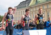 Brownlee Brothers And Gregor Buchholz , Prize Ceremony