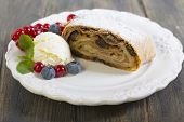 Strudel With Apples.