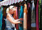 Tourist Shopping In Mostar