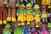 stock photo of rag-doll  - view of rag dolls  - JPG