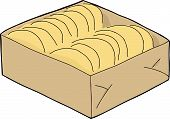 Isolated Taco Shells Box