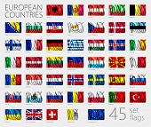 foto of wavy  - European Country Flags - JPG