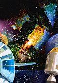Travel to the supernova nebula