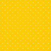 pic of dot pattern  - Tile decoration vector pattern with white polka dots on yellow background for seamless website summer wallpaper - JPG
