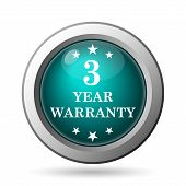 3 Year Warranty Icon
