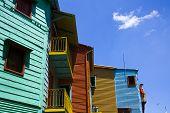 Houses in La Boca, Buenos Aires
