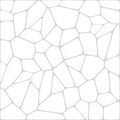 Abstract vector mosaic white background