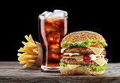 picture of takeaway  - Hamburger - JPG