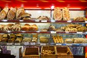 COLOGNE, GERMANY- SEP 18:  bakery interior on September 18, 2014. Cologne is Germany's fourth-largest city. Cologne is located on both sides of the Rhine River.