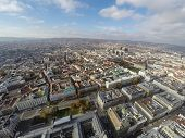 Aerial view on Vienna