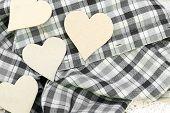 Paper Heart Valentine's Background