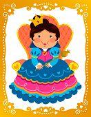cartoon queen