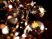 Stone jewels clouse up