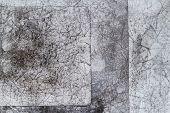 Vintege Background Grey Old Creased Paper Crumpled