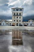 The main tower of Massandra winery, 1894