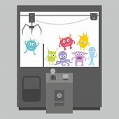 Claw crane game machine