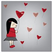 picture of love hurts  - Vector illustration love want me - JPG