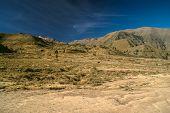 foto of arid  - Arid peruvian landscape near Canon del Colca - JPG