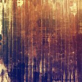Old abstract grunge background for creative designed textures. With different color patterns: yellow (beige); blue; brown