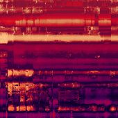 Old, grunge background or ancient texture. With different color patterns: red (orange); yellow (beige); purple (violet); pink