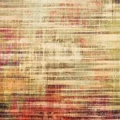 Old grunge background with delicate abstract texture and different color patterns: red (orange); yellow (beige); brown; gray
