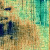 Aging grunge texture, old illustration. With different color patterns: yellow (beige); blue; brown; cyan