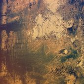 Old ancient texture, may be used as abstract grunge background. With different color patterns: yellow (beige); blue; brown; gray
