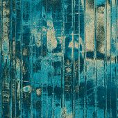 Abstract textured background designed in grunge style. With different color patterns: blue; cyan; black; gray