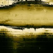 Background with grunge stains. With different color patterns: black; yellow (beige); brown; gray