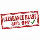 Clearance Blast-stamp
