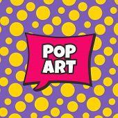 foto of nuke  - pop art retro theme bubble caption vector illustration - JPG
