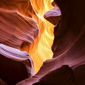 The Upper Antelope Canyon Page Arizona USA