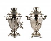 Постер, плакат: Old russian samovar water boiler