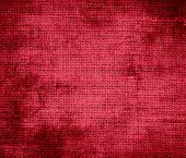 picture of cardinals  - Grunge background of cardinal burlap texture for design - JPG