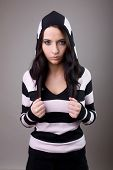 Girl In Stripes Woolly