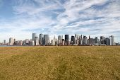 View of Manhattan from Liberty State Park