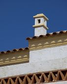 Spanish Roof And Chimney