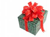 Christmas Gift Isolated