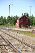 Old abandoned railway station