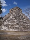 Pyramid At Chichenitza