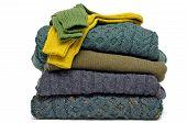 Cable de invierno irlandés lana tejidos & calcetines