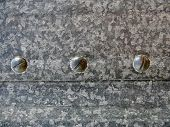 Eisen und Schrauben