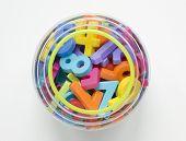 Numbers In Jar