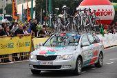 Tour De Pologne Team Vehicle